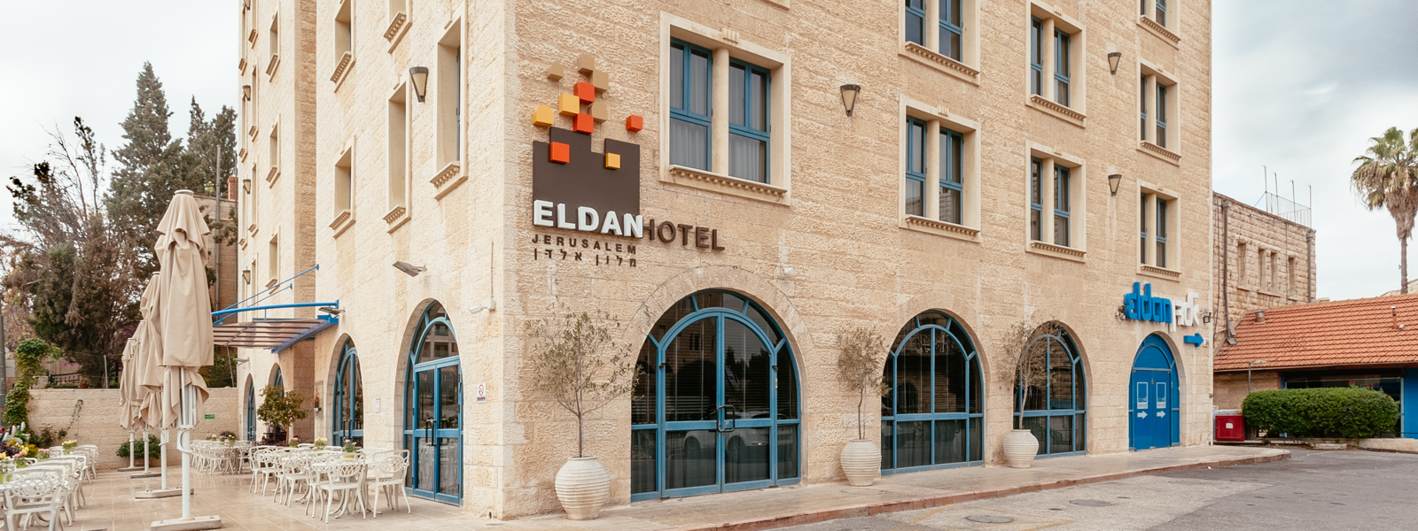 Eldan Hotel - boutique hotel in jerusalem